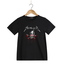 Classic Rock Heavy Metal Metallica Kids tshirt Boys 2016 Summer Cartoon Children Girls T shirt Children T-Shirt  100% coton