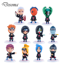 Naruto Animation Around Action Figure Toys 17 Generations 11pcs/set Anime Doll PVC Toy Kids Mini Model Christmas Gift - HT Boutique Store store
