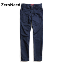 Brand Men Pants Casual Fashion Slim Fit Cargo Pant Blue Cotton Men Trousers Solid Breathable Joggers Outdoors Big Size 293(China)