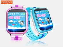 Zeepin English/Russian Q750 Kids GPS Intelligent Smart Watch Telephone with Pedometer SOS Call GPS Tracker for Children
