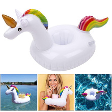 Inflatable Unicorn Floating Cup Holder Bachelorette Party Supplies Pool Party Decorations Wedding Decoration Mariage Air Balloon(China)