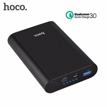 hoco QC3.0 Quick Charge 8000mAh Power Bank Portable Fast Charger External Battery With Type C Port for Samsung Huawei and iPhone(China)