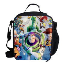Hot Small Cartoon Character Lunch Bag For Kids Toy Story Buzz Lightyear Woody Roundup Cowboy Lunch Bag For Children Boys Girls
