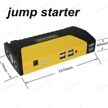 super function petrol& Diesel 68800mAh12V car power bank yellow color  mini car jump starter mobile power charger