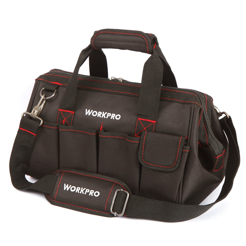 WORKPRO 14 Tool Kit Bag High Quality Tool Storage Bag Multifunction Bag  <br><br>Aliexpress