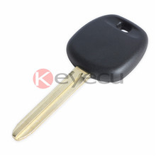 KEYECUKEYECU New Transponder Ignition Key 128Bit 8A(H) Chip for 2015 Toyota Camry Sequoia(China)