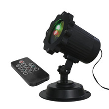 ICOCO Waterproof IR Remote Contrl Red Green Laser Light Practical Design Home KTV Party Christmas Disco Stage Light Lamp