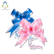 10pcs/lot Gift Pull Bows Ribbon Wedding Birthday Party Wedding Car home Room Decoration Gift Packaging Packing Wrap GYH