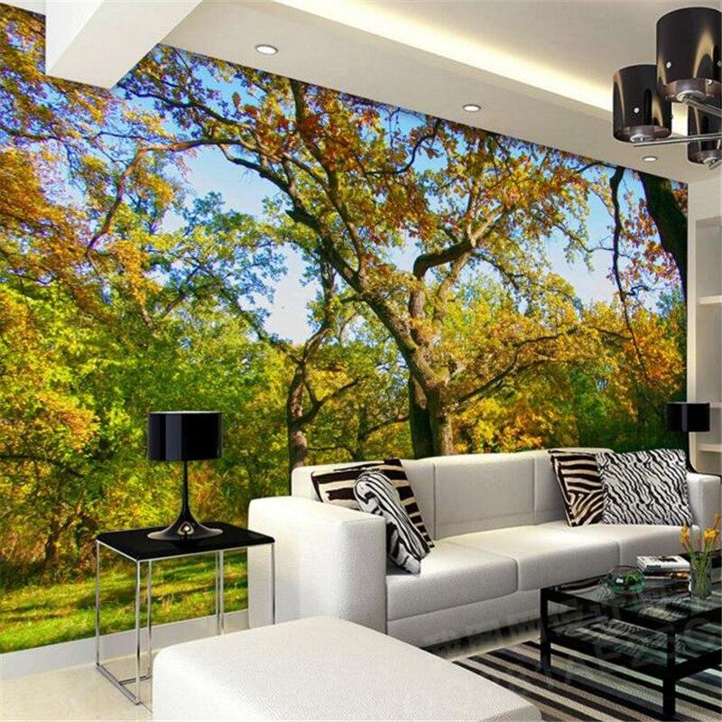 papel de parede Nature Landscape Photo Background Wallpaper 3D Living Room Bedroom Wallpaper Mural Photo wallpaper for walls 3 d<br><br>Aliexpress