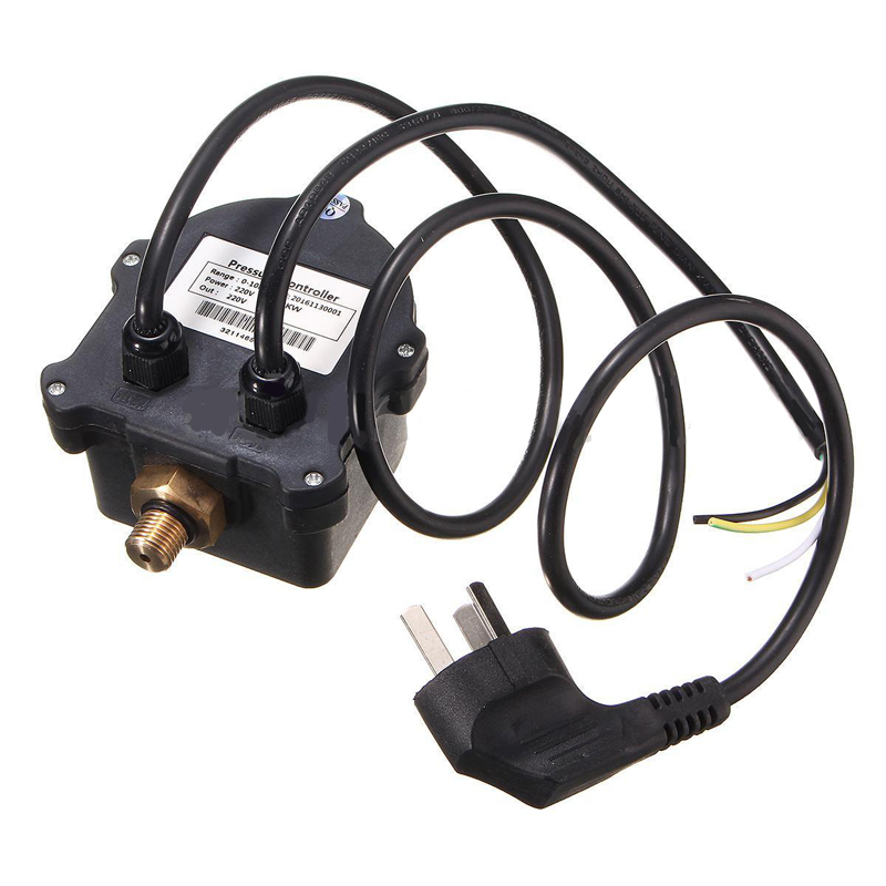 220V AC 10A Digital Switch Controller Automatic Pressure Controller Water Pump ON OFF Switch Lighting Accessories