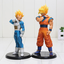 18cm Dragon Ball Z Action Figure Resolution of Soldiers VOL 2 Son Gokou Vegeta Figure ROS DBZ Action Figuras Model