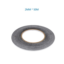10pcs/lot 2MM * 50M Double Sided Adhesive Tapes For Cellphone Touch Screen(China)
