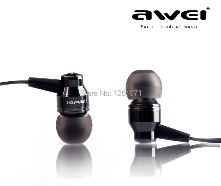 Awei ES800M In Ear Earphones Super Clear Bass Dynamic Stereo Metal Headphone Noise isolating Earbud Free Shipping<br><br>Aliexpress