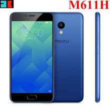 Original Meizu M5 Global version M611H MT6750 Octa Core 3GB RAM 32GB ROM Black&Blue Color 13MP Fingerprint ID Cellphone