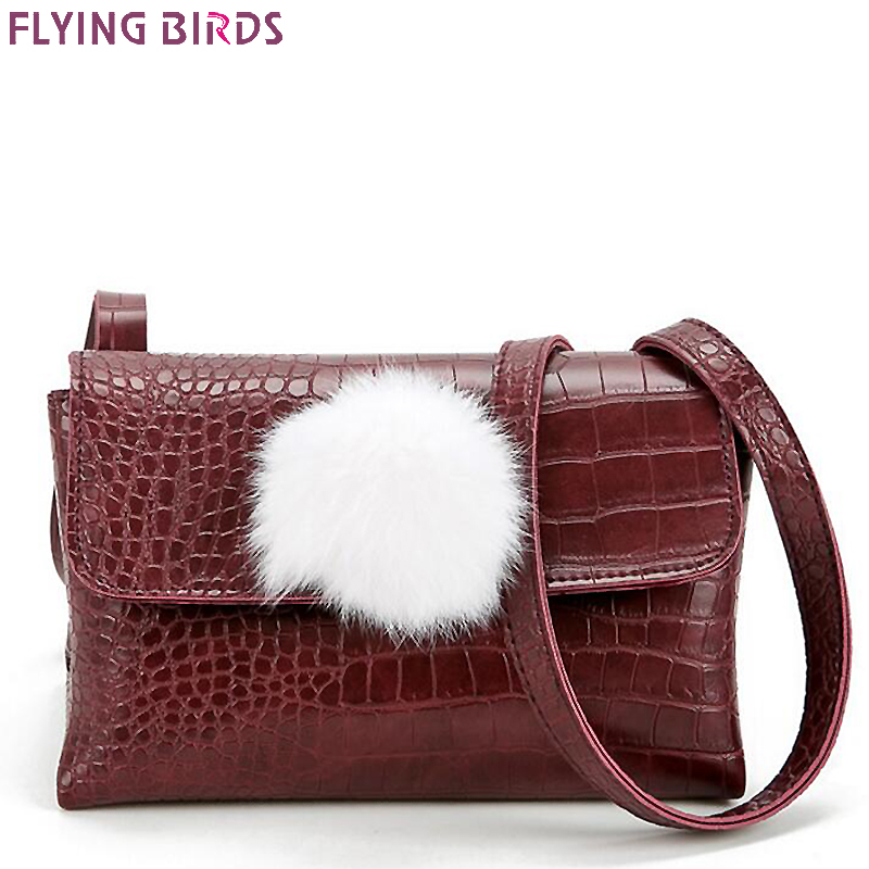 Flying birds women messenger bags cross body women bag ladies designer leather handbag bolsas crocodile style purse LM4332fb<br><br>Aliexpress
