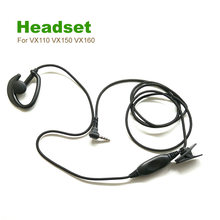 Two Way Radio Accessory Headset For Yaesu Ham Radio VX110 VX150 VX160 VX180 VX1R VX2R VX3R VX5R VX300 VX400 VX200