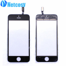 Touchscreen for iphone 4 4s 5 5g 5s Black/white Touch Screen Digitizer panel replacement parts for iphone 4/4s/5g/5s Touch panel
