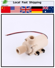 DC 12V Brushless Motor Water Pump Solar Hot Water Circulation Pump