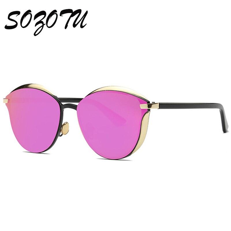Newest Fashion Sunglasses Women Men So Real Sun Glasses Ladies Luxury Brand Designer For Female Coating Mirror Oculos YQ088<br><br>Aliexpress