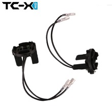 TC-X 2 Pieces VW Golf 7 Xenon H7 Headlight Bulbs Adapter for Tiguan /Scirocco / Sharan /Touran HID Lamp Holders Base Retainers(China)