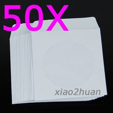 New Arrival for +Free shipping! 50pcs/lot ! Mini Paper CD DVD Flap Sleeves Case Cover Envelope
