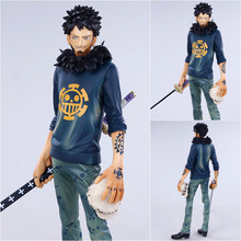 "Free Shipping 10"" One Piece Anime Master Stars Piece The Surgeon of Death Trafalgar Law Boxed 26cm PVC Action Figure Model Doll"