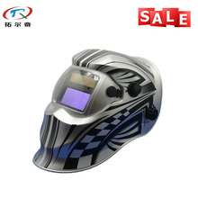 Free Shipping Light Weight Cool Welder tool Electronic Custom Auto Darkening Welding Helmet TRQ-KD01-2233FF(China)