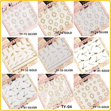 NewestTY SERIES 3d Nail art sticker and water nail seal decals decor  Stickers accessories Decoration seal Salon DIY