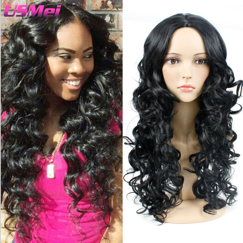 Afro Wig Long Black Wavy Wig Hand Tied Fullcap Braided Wigs Perruque Tresse Africaine Jinxcosplay Synthetic Wigs that Look Real<br><br>Aliexpress