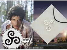 Fashion Jewelry Silver Charm Teen Wolf Triskele Necklace Triskelion necklace Allison Argent necklace