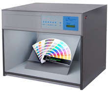 Color Matching Cabinet 5 light sources: D65 TL84 UV F CWF Size:71*42*57cm Customizable Color Assessment