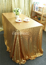 520cmx240cm Gold tablecloth Sequin fabric tablecloth banquet tablecloth,soiree tablecloth,home decoration