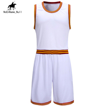 Men's Basketball Set Game Training Jersey Set Basketball Sleeveless Breathable Cotton Sportswear Summer Latest Size 5XL 39