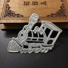 New Metal Steel Cute Locomotive Cutting Dies Stencil For DIY Scrapbooking Album Paper Card Photo Decorative Craft DIE CUT