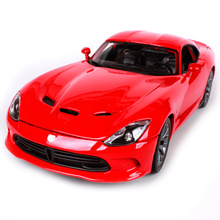 Maisto 1:18 2013 DODGE SRT Viper GTS Sports Car Diecast Model Car Toy New In Box Free Shipping 31128(China)