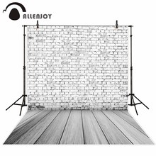 Allenjoy photography theme background vintage Classic Brick wall drift grey portray natural children photos camera fotografica