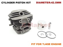 Original Cylinder Piston Kit for KAWASAKI TJ45E Brush Cutter.Grass Trimmer.Lawn Mower . Gasoline Engine Garden Tools Spare Parts