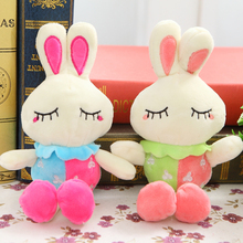 Plush toys Wedding dolls small doll, shy white rabbit children present campaign gifts,