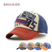 Original Brand Summer Boys Baseball Caps Children's Denim Cotton Hats Bone Snapback Letter Patch Hats Kids Sport Outdoor Caps