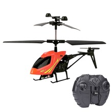New 1*2CH Mini RC Helicopter Radio Remote Control Electric Micro Aircraft 2 Channels
