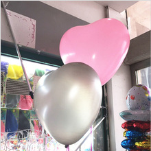 OURUOLA 36 Inch Big Heart Latex Balloon For Wedding Decoration Inflatable Balls Birthday Party Love Marriage Lover Baloon