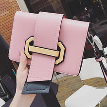 ANTBOOK New Designer Handbags High Quality Pu Leather Hit color Women Messenger Crossbody Bags Candy Color Girl Shoulder Bag