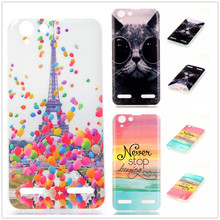 For Lenovo K5 case Pattern Soft TPU Case For Lenovo Vibe K5 K 5 (5.0 inches) Mobile Phone Rubber silicone Bags Back Cover Cases