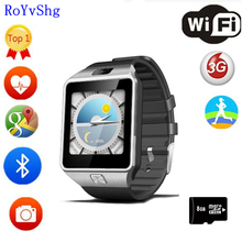 Qw09 smart watch мужчины android 4,4 MTk6572 512 МБ + 4 ГБ 3g bluetooth, Wi-Fi Smartwatch MP3 плеер для Android iOS Телефон PK S8 DZ09 X01S(China)