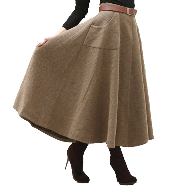 High Quality Wool Long Skirt-Buy Cheap Wool Long Skirt lots from ...
