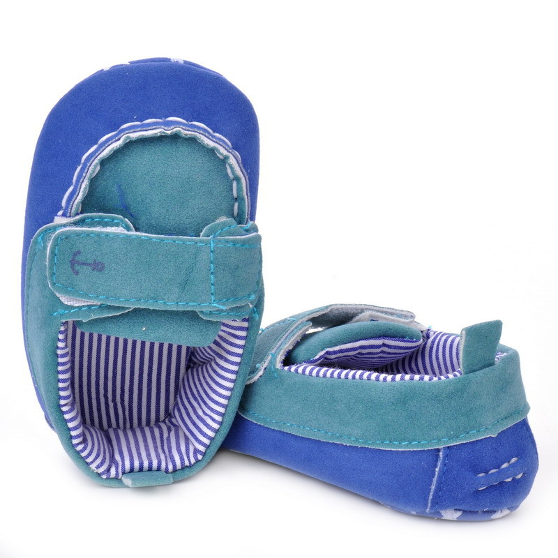 17 Fashion Newborn Baby Girl Boy Shoes Soft Sole Infantil Toddler Baby Boy Sneakers Blue Baby Mocassins Crib Peas Flock Shoes 21