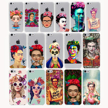 fab ciraolo frida kahlo daft punk Hard Transparent Case Cover for iPhone 7 7 Plus 6 6S Plus 5 5S SE 5C 4 4S