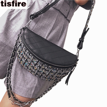 Tisfire shoulder strap bags handbags women famous brands velvet bag fashion personality crossbody bag hobo chain bags inspired(China)