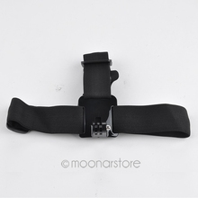 2016 New Elastic Adjustable Head Strap for GoPro Hero 1 /2 /3 /3+ Head Strap for Gopro Camera Hero 3 Good Use Elastic Head Strap(China)