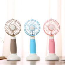 Portable 3 Speeds Handheld Mini Windmill Fan Desktop Fan USB Rechargeable Fan with for Home and Office, Indoor and Outdoor
